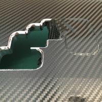 レクサス内装インパネ周りラッピングのサムネイル