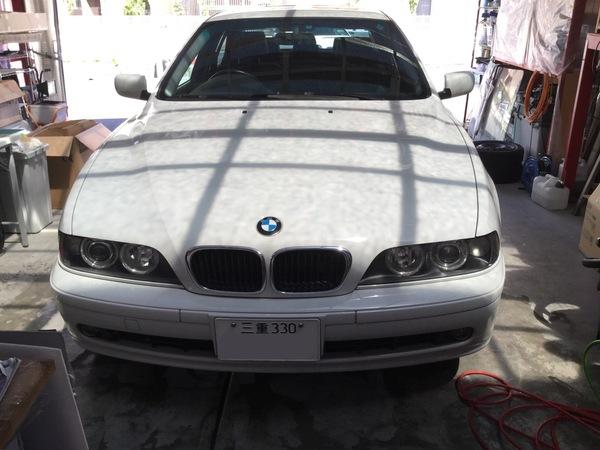 BMWヘッドライトコーテイング
