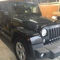 Jeep(ジープ)sahara 断熱スモークフィルム貼りのサムネイル