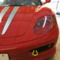 フェラーリ360 フィルム貼りのサムネイル