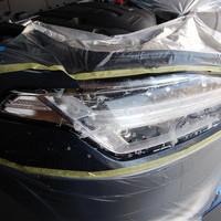 ボルボXC90ヘッドライトプロテクションフィルム施工のサムネイル